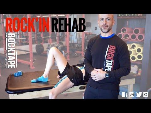 Rocktape - Rockin Rehab - Hip Flexor Tape and Why