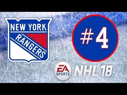 NHL 18 ~ New York Rangers Franchise Mode ~ #4 (Finally Its Done)