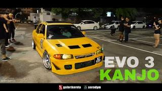 Proton Wira EVO Kanjosan Exhaust Sound XO AutoSport Street Style in Malaysia