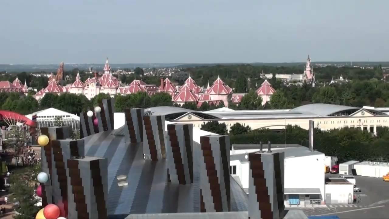 Panoramagique Balloon Disneyland Paris Hd Complete Ridethrough