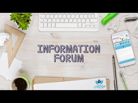 Information Forum: Find Your Fit with Make A Change Canada
