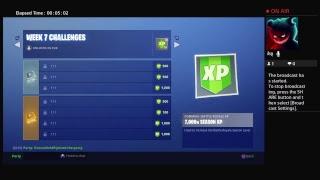 *NEW* fortnite ROADTRIP challenges & skin gameplay