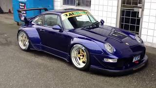 rwb porsche walk around rauh welt canada