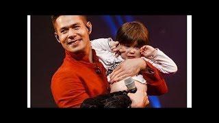 Стас пьеха впервые появился на сцене с 3-летним сыном