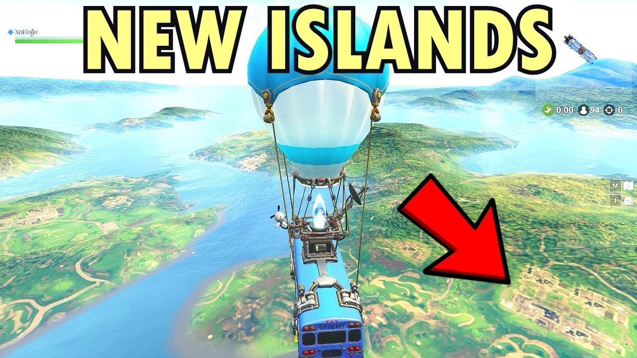 when happens when you don t jump out of the battle bus and continue to new island fortnite - fortnite kicks me out when i jump