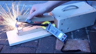 Spot Welder from microwave  -   how to increase the power