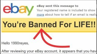 How I got banned from ebay for life