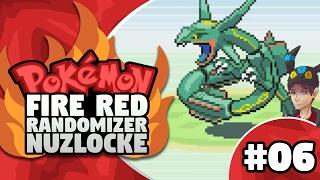 pokemon firered randomizer nuzlocke episode 6 rayquaza do not hurt me