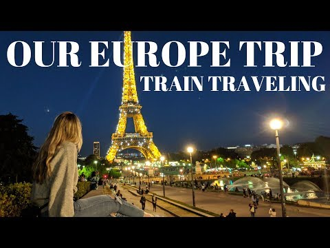 OUR BIG EUROPE TRIP! NORTH AMERICANS FIRST TIME OVER SEAS