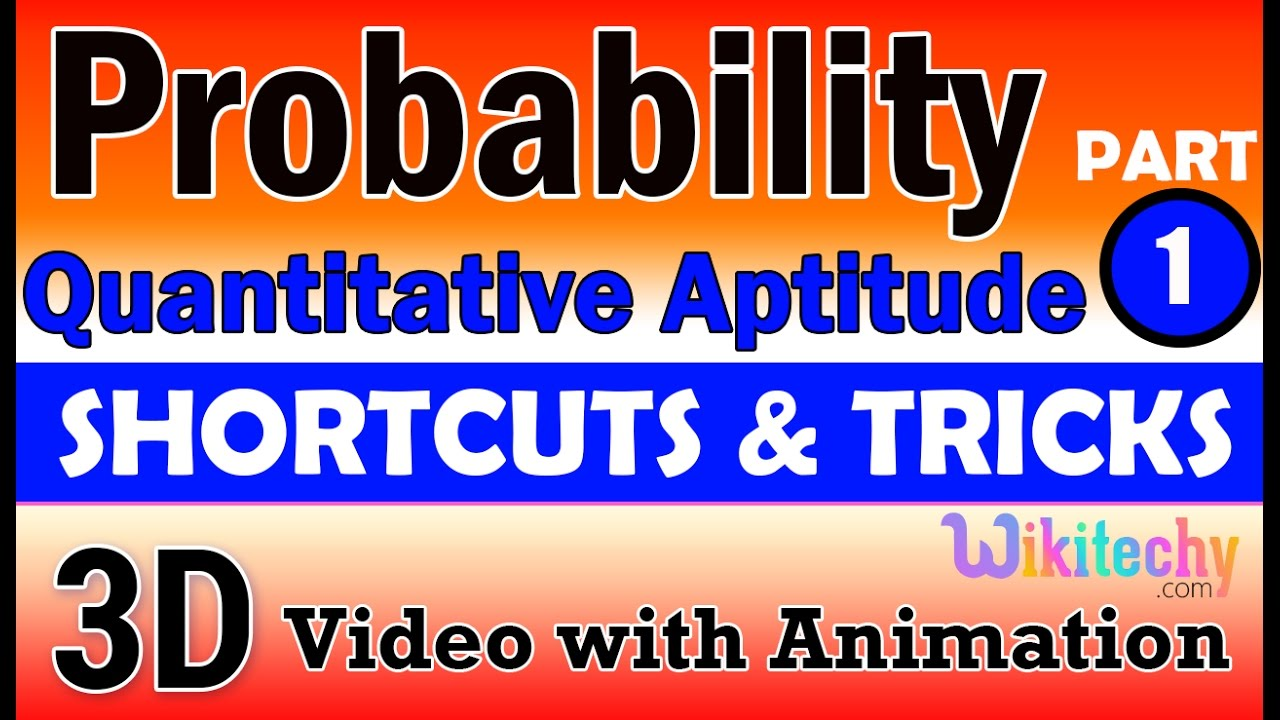 probability aptitude interview questions papers and answers probability 1 aptitude interview questions papers and answers online videos lectures tips