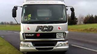 c1 training exeter 7 5 tonne driver training devon lgv reversing exercise