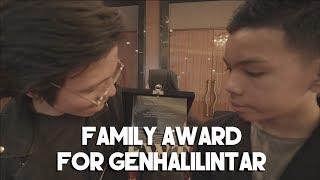 FAMILY AWARD FOR GEN HALILINTAR - PERMATA BANK - AT THE RITZ CARLTON