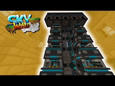 MEGA Autocrafting Upgrade! Refined Storage - #68 - Minecraft Sky World
