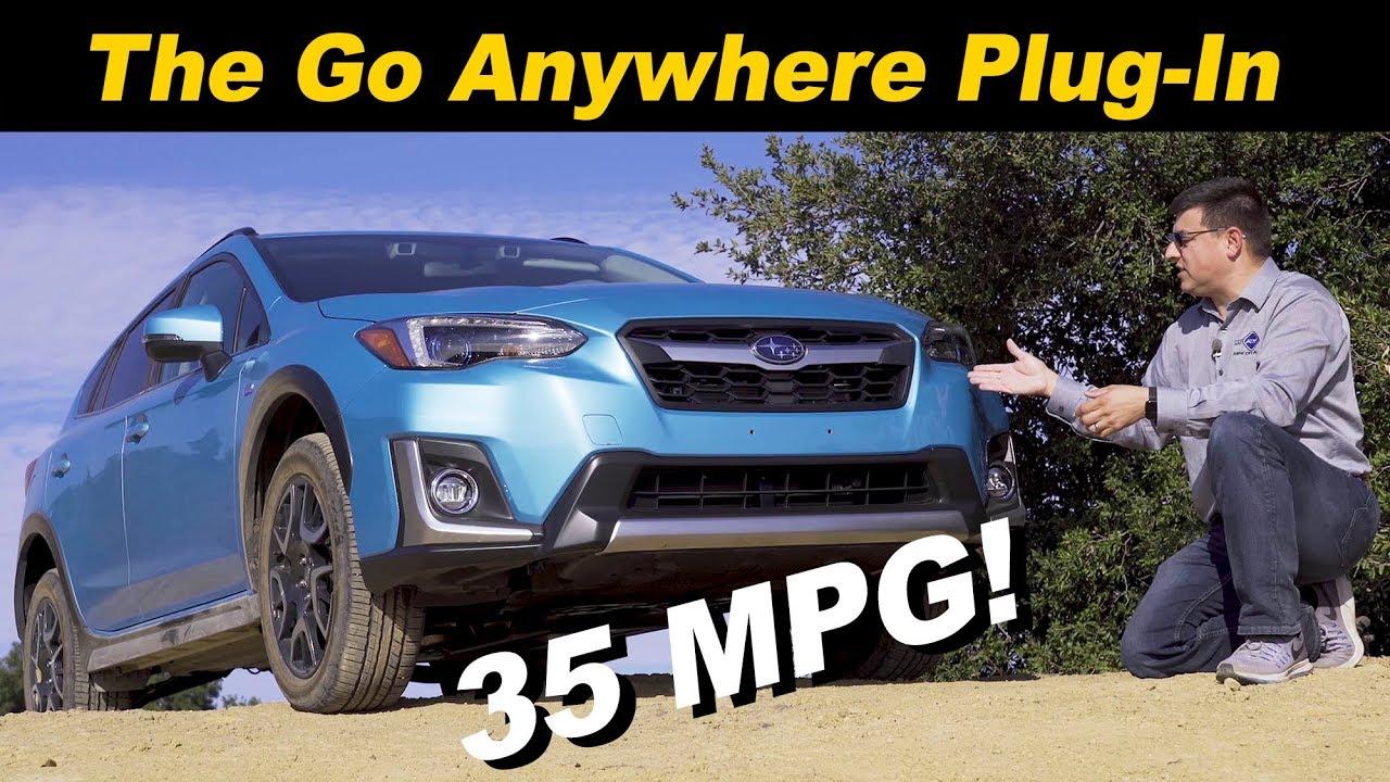 Subaru plug in hybrid 2020