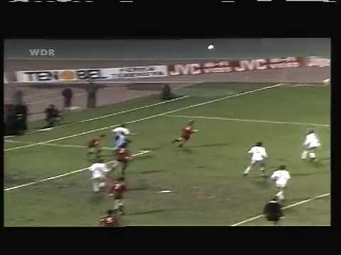 1981 March 18 FC Koln W Germany 3 Standard Liege belgium 2 UEFA Cup