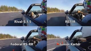Rival S 1.5 vs RE71R vs 595RSRR Review - 2017