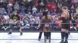 John Cena & Batista Vs King Booker & Big Show part 1.flv