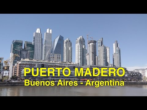 Puerto Madero - Buenos Aires 4K