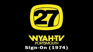 WYAH-TV 27 Sign-on