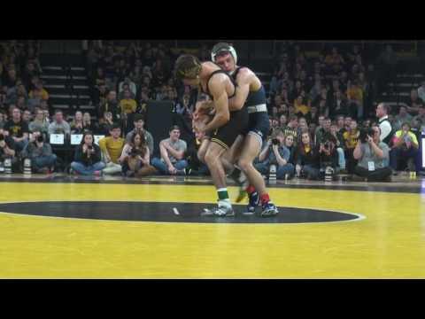 125 lbs Thomas Gilman, Iowa vs Nick Suriano, Penn State