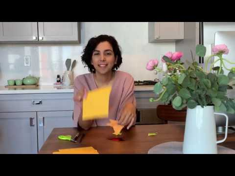 How to make an origami fish by Hani joon!
