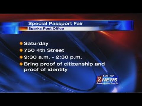 4/18 5pm Passport Fair at Sparks Post Office