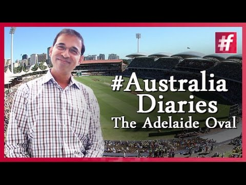 #fame cricket - #Australia Diaries with Harsha Bhogle - The Adelaide Oval
