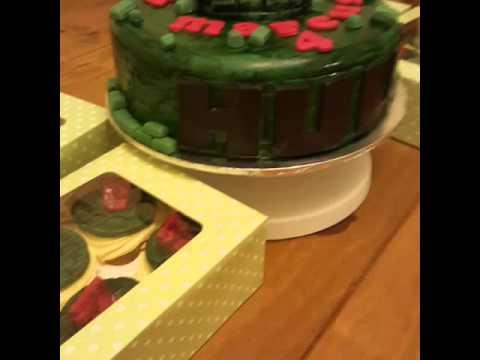 The red hulk cake YouTube
