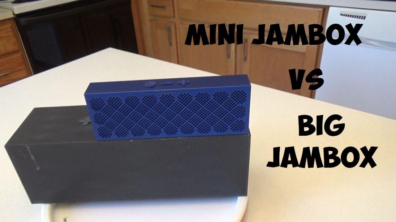 Mini Jambox vs Big Jambox Review and Comparison w/ sound test