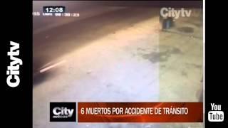 Citytv: Balance de accidentes de tránsito en Bogotá
