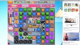 candy crush saga level 1467 walkthrough