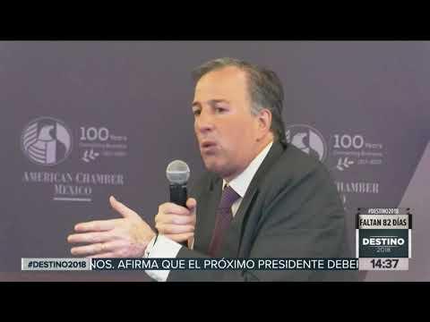 Las propuestas de José Antonio Meade en la American Chamber of Commerce | Noticias con Yuriria