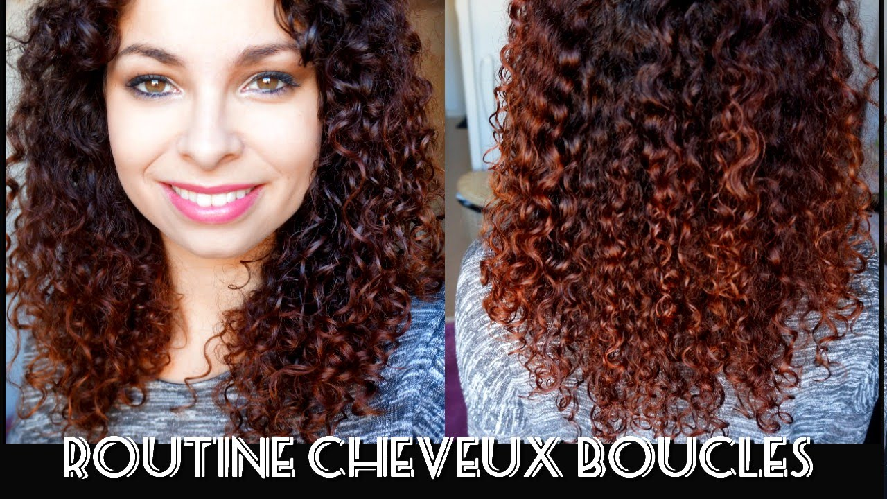 routine cheveux boucles avec produits naturels youtube. Black Bedroom Furniture Sets. Home Design Ideas
