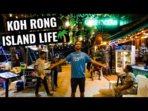 TRAVELING TO KOH RONG | Island Life in Cambodia