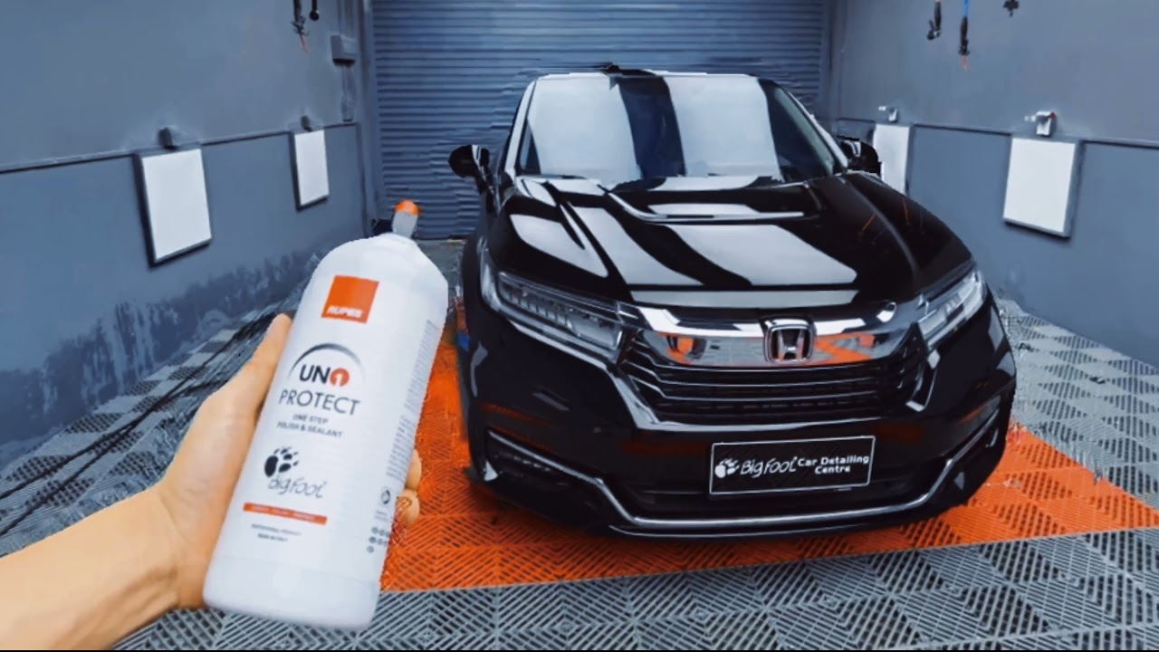 Discovering the performance of UNO Protect with the BigFoot Car Detailing Academy China