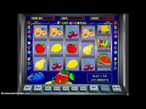 Игровые автоматы fruit cocktail играть смс