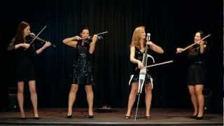Palatine Electric String Quartet perform Palladio by Karl Je...