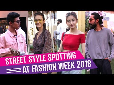Street Style Spotting at fashion week 2018 | Fashion | PinkVilla