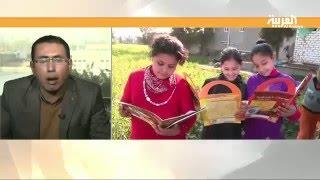 عربة الحواديت..  مبادرة لتوزيع القصص على أطفال القرى