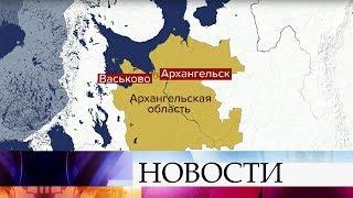 В Архангельской области самолет Ан-2 с пассажирами на борту совершил жесткую посадку.
