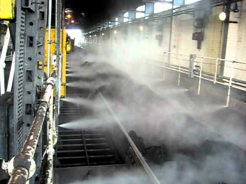 Dust Suppression In Rail Unloading Station J D