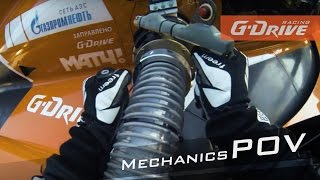 G-Drive Racing | POV Mechanics in action | Full HD