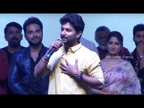 Hero Nani Speech @ HIT Movie Pre Release Event | Vishwak Sen | Ruhani Sharma | Nani