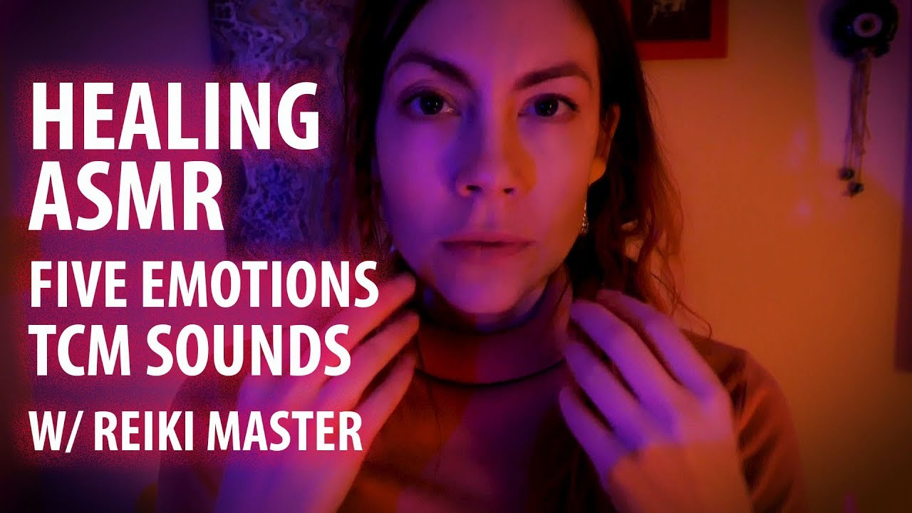 Healing ASMR Traditional Chinese Medicine Emotional Healing Sounds with  Reiki