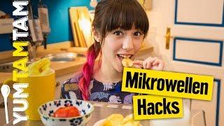 Mikrowellen Hacks // Kochen mit der Mikrowelle // #yumtamtam