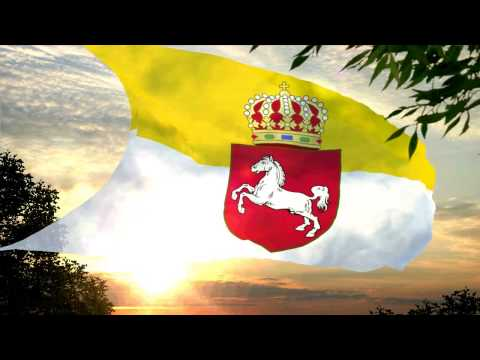 *Flag and anthem of Kingdom of Hanover  (1814-1866)