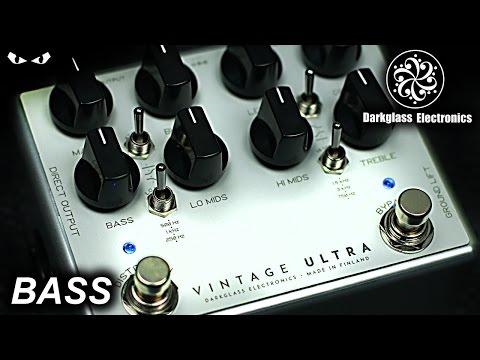 Darkglass Vintage ULTRA - BASS Demo
