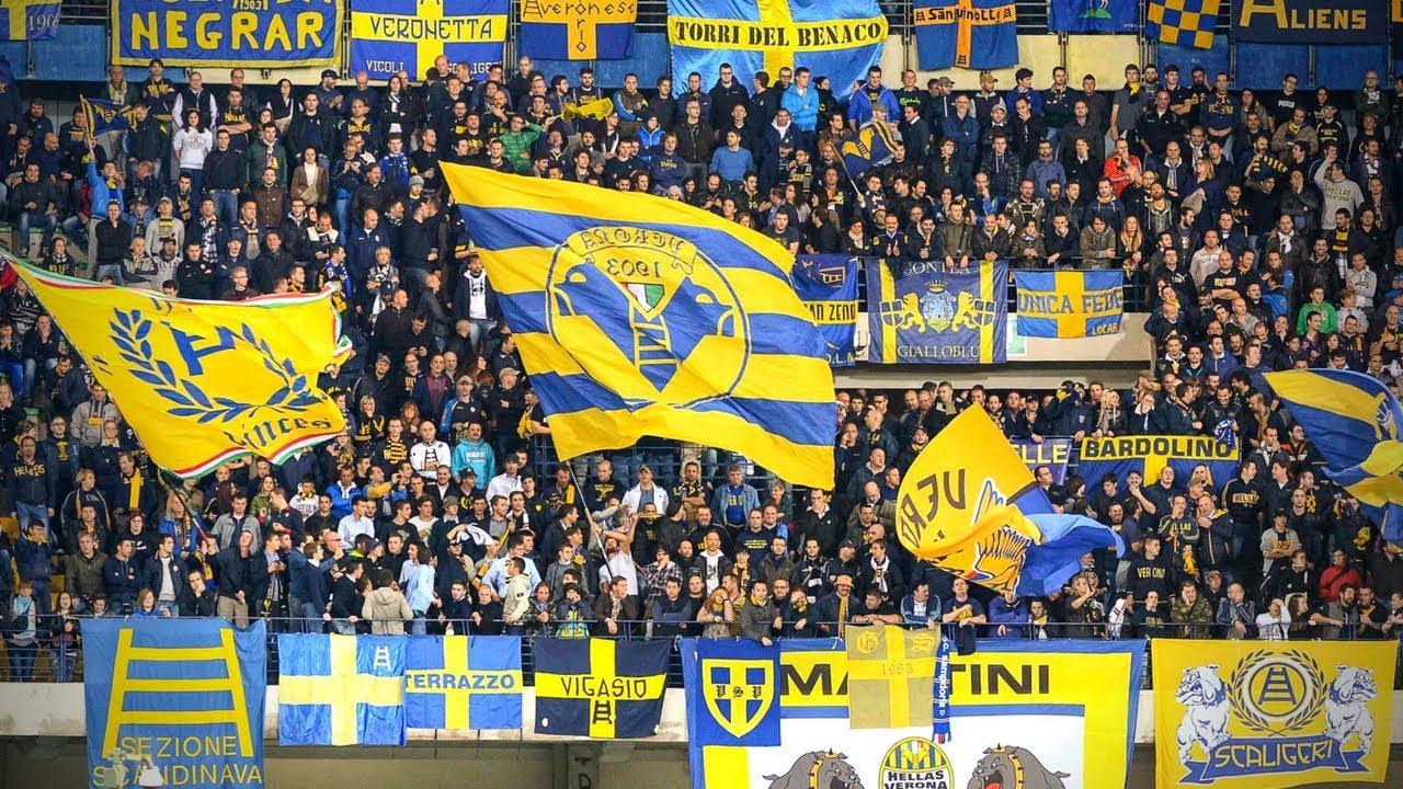 Ultras Hellas Verona : E quando i blu saranno in ciel ...