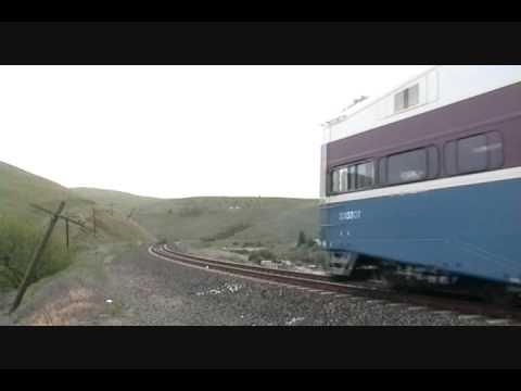 ACE Train 7 On Altamont Pass