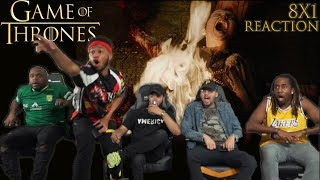 Game of Thrones Season 8 Episode 1 Winterfell GROUP REACTION/REVIEW